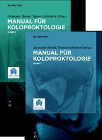 Wedel T, Stelzner S: Anatomie. In Herold A, Schiedeck T (eds), Manual für Koloproktologie, De Gruyter 2019